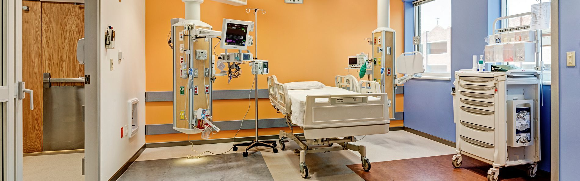 This new equipment provides staff with easy access to the needed equipment