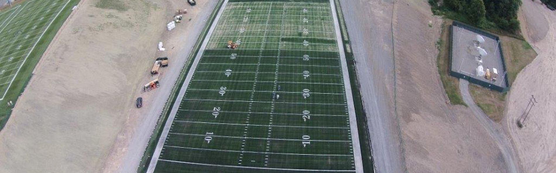 Football field for the New Orleans Saints that meets all NFL requirements and regulations