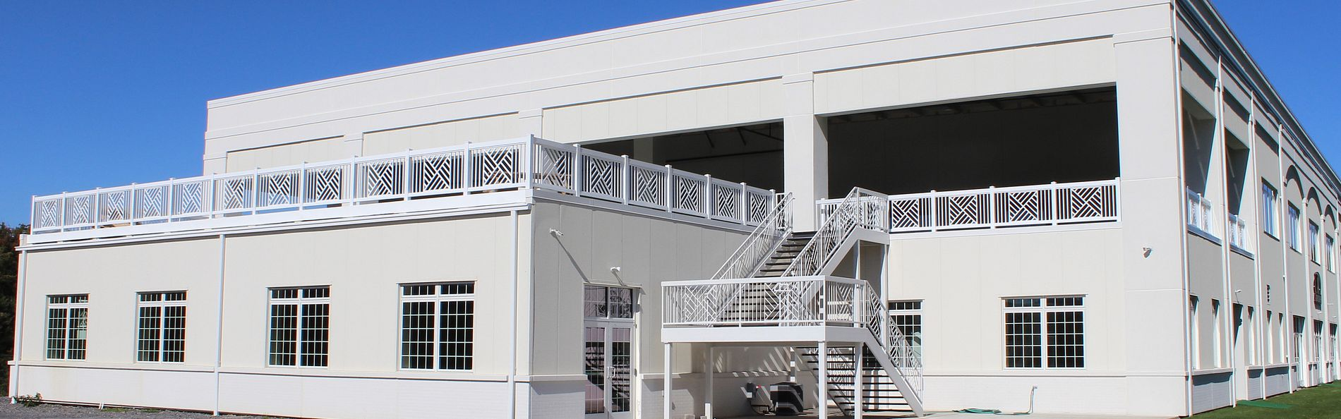New 53,400 sq ft, two-story building finished for the New Orleans Saints to begin their preseason training camp