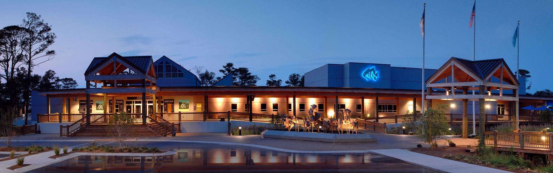 North Carolina Aquarium at Pine Knoll Shores | Clancy ...