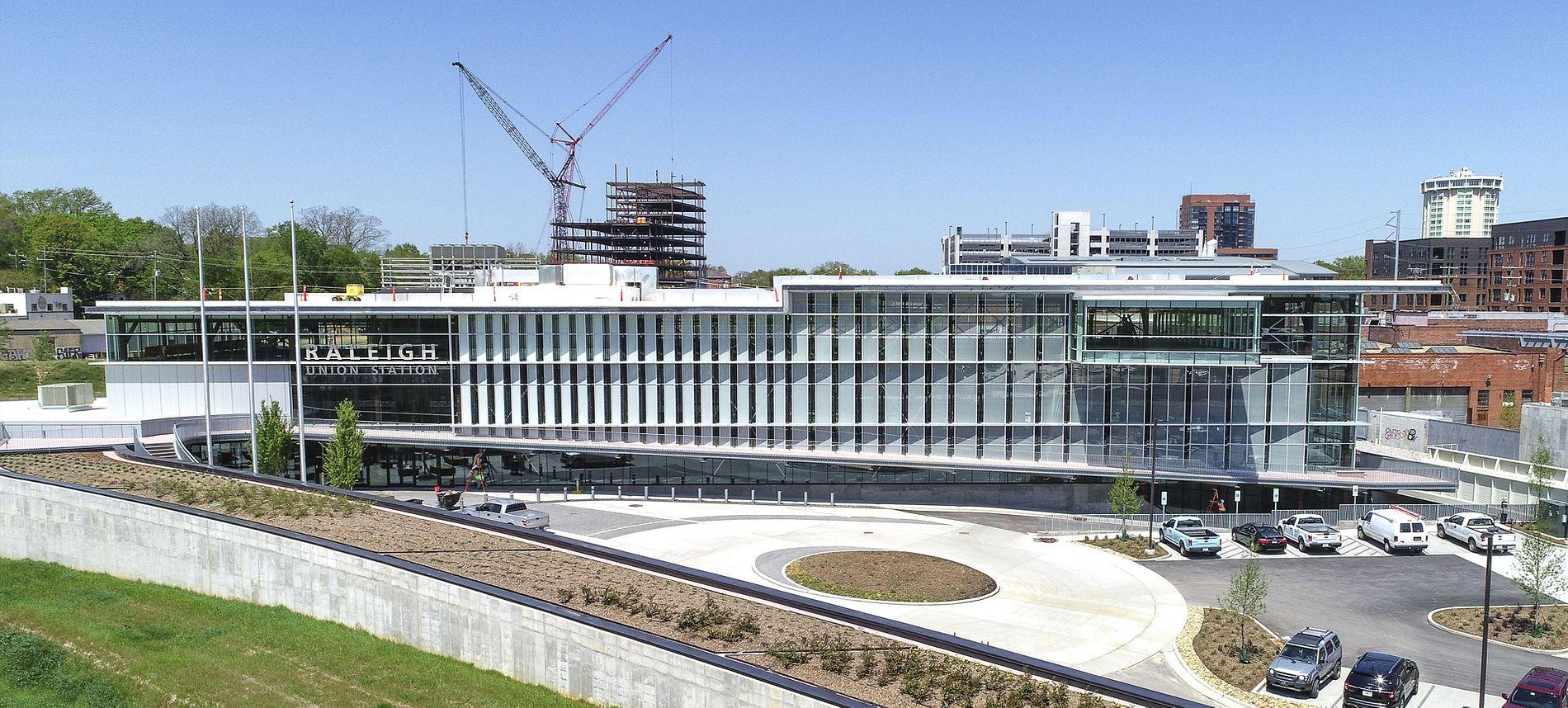 Raleigh landmark construction