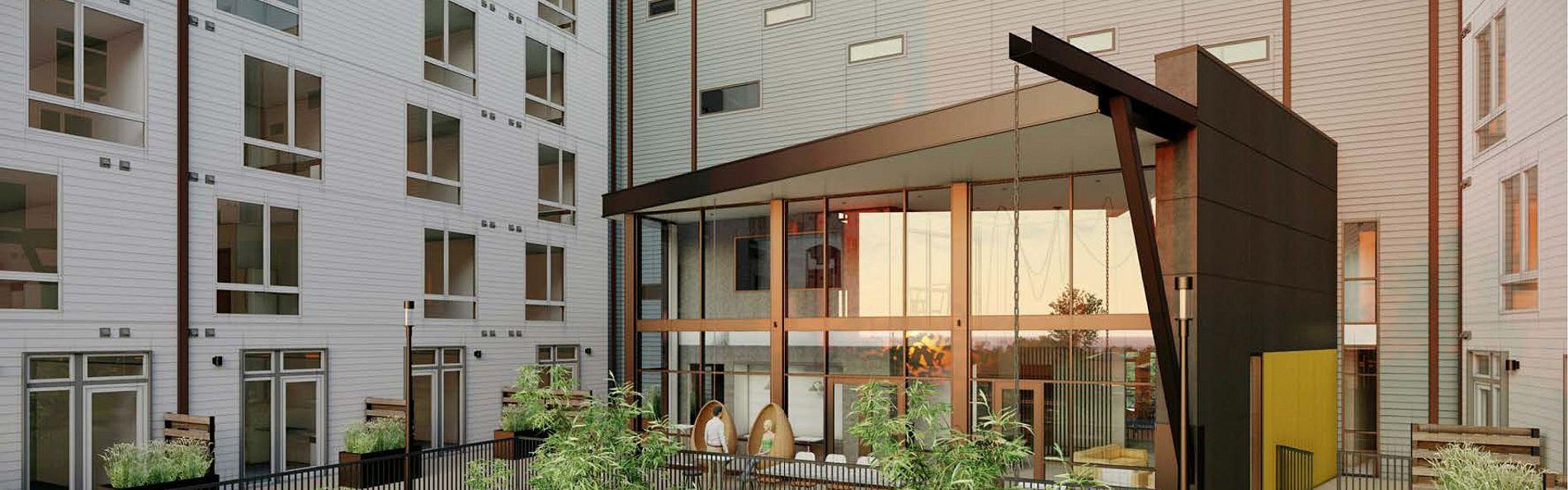 Rigsbee Apartments Rendering