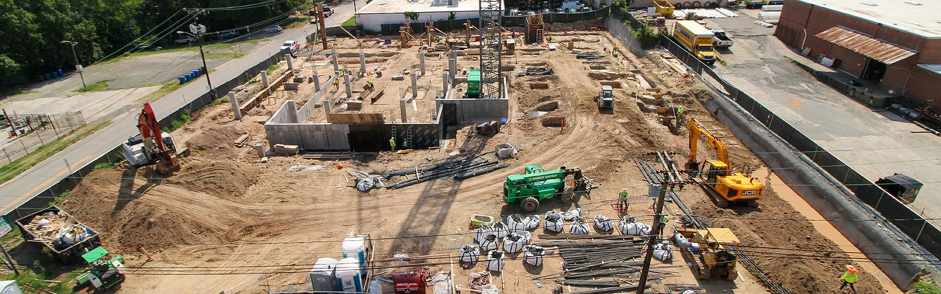 Construction Site Camera at Rigsbee Apartments