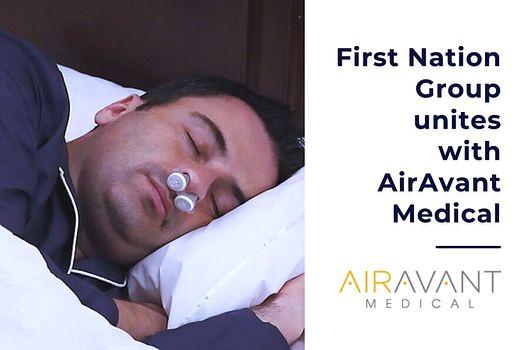 AirAvant Medical Partnership Announcement News + Events Creative Tile