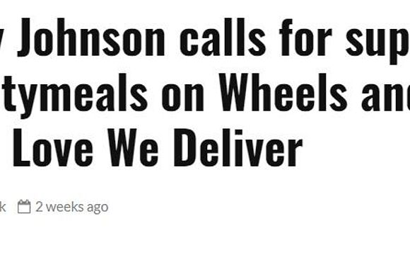 AM NY headline: Corey Johnson calls for support for Citymeals on Wheels and God's Love We Deliver