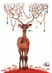 Reindeer Card Front