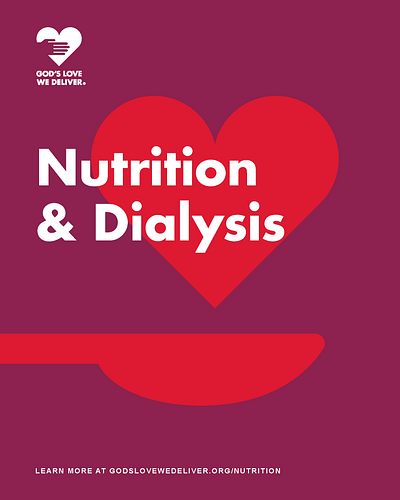 Nutrition for Dialysis Publication Cover