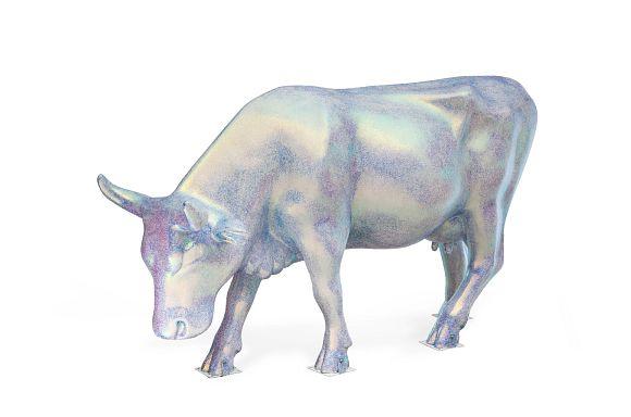 E Pluribus Unum cow by Yannick Lowery