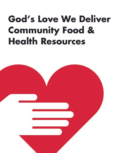 Cover of Community Food and Health Resources with God's Love heart