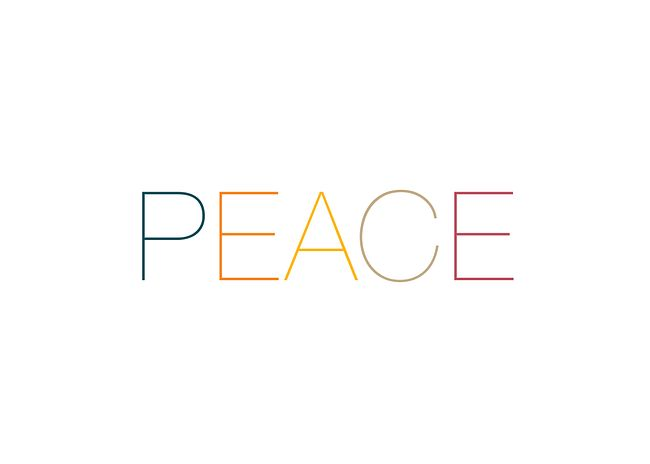 PEACE Card Front