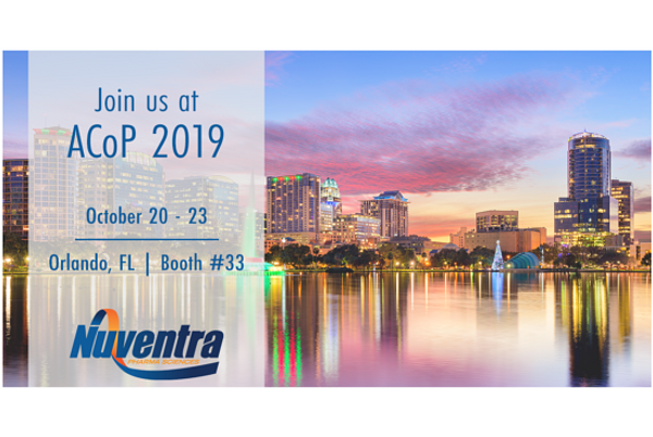 Join Nuventra at ACoP 2019
