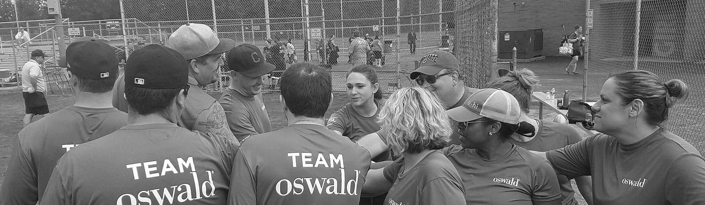 Oswald softball team