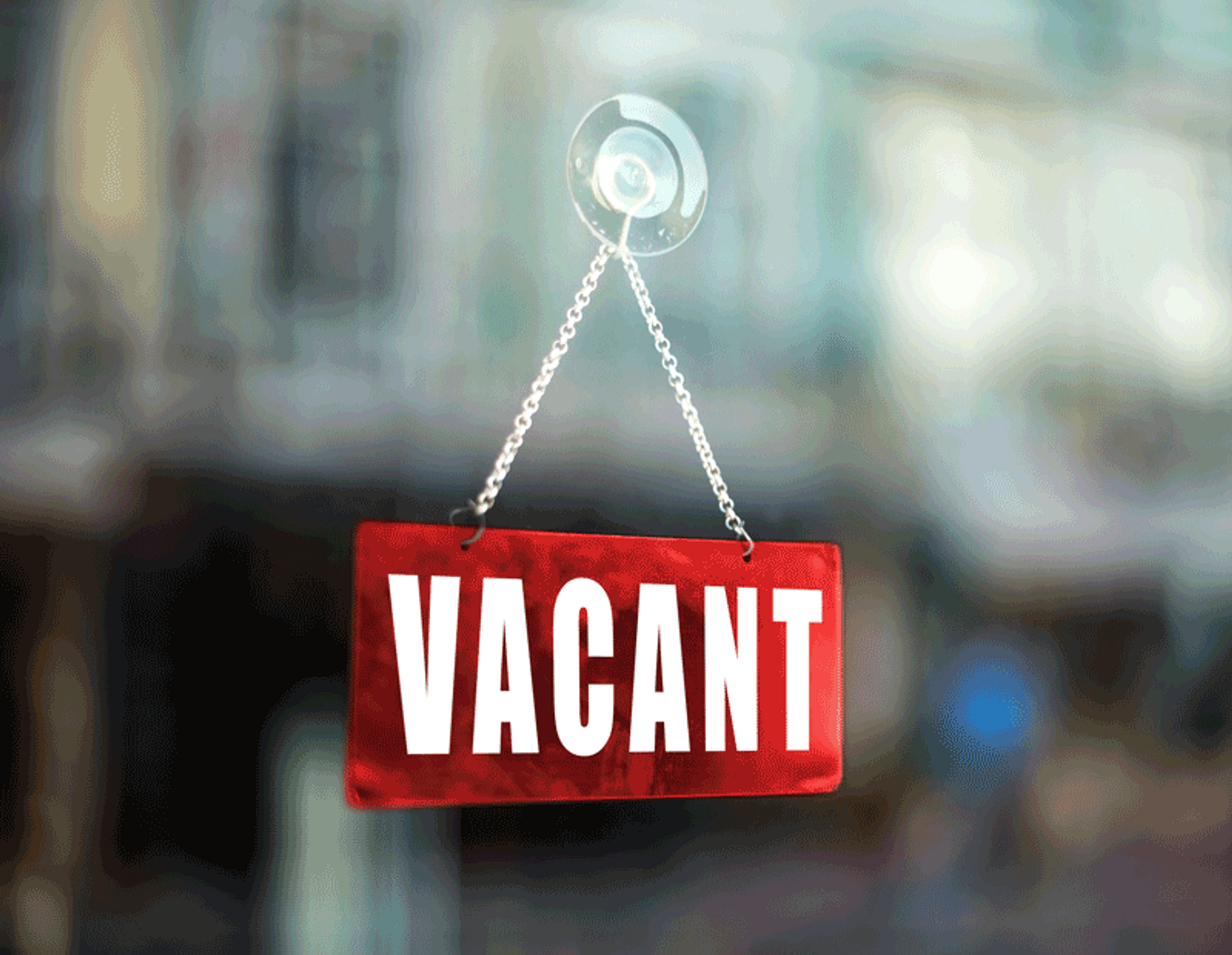Vacant sign