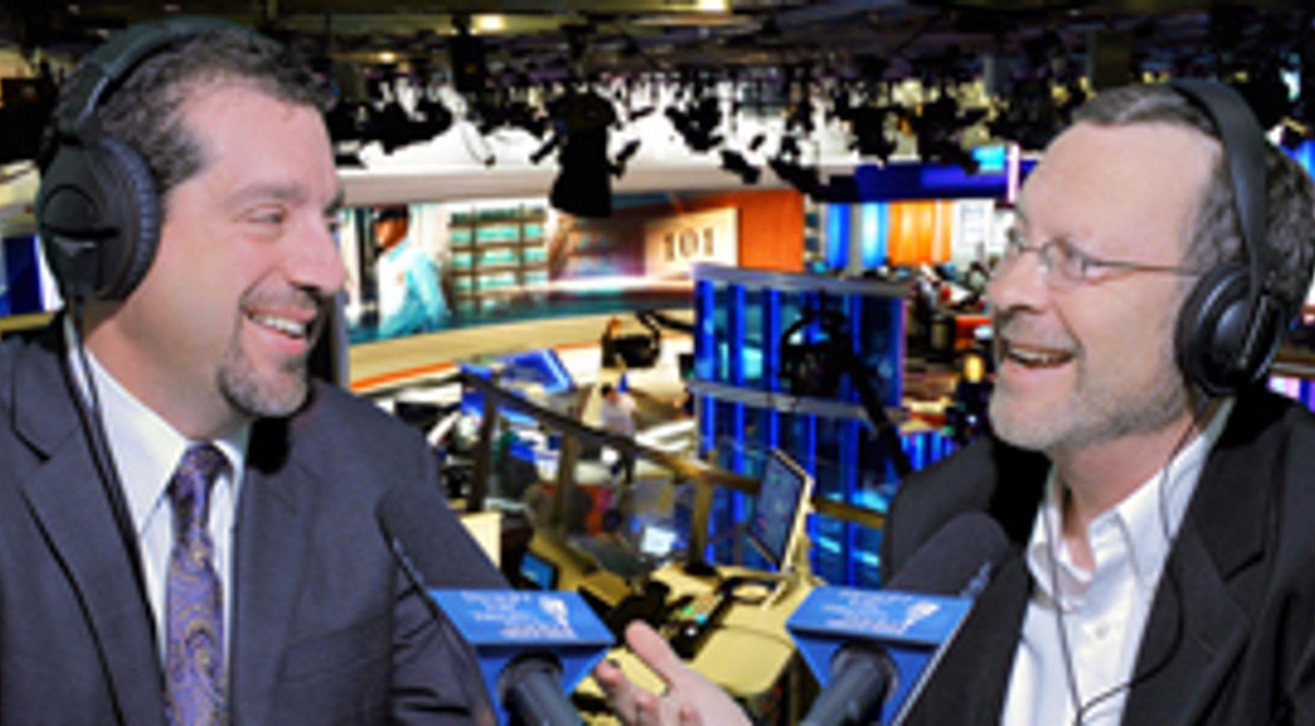 Dave orloff being interviewed