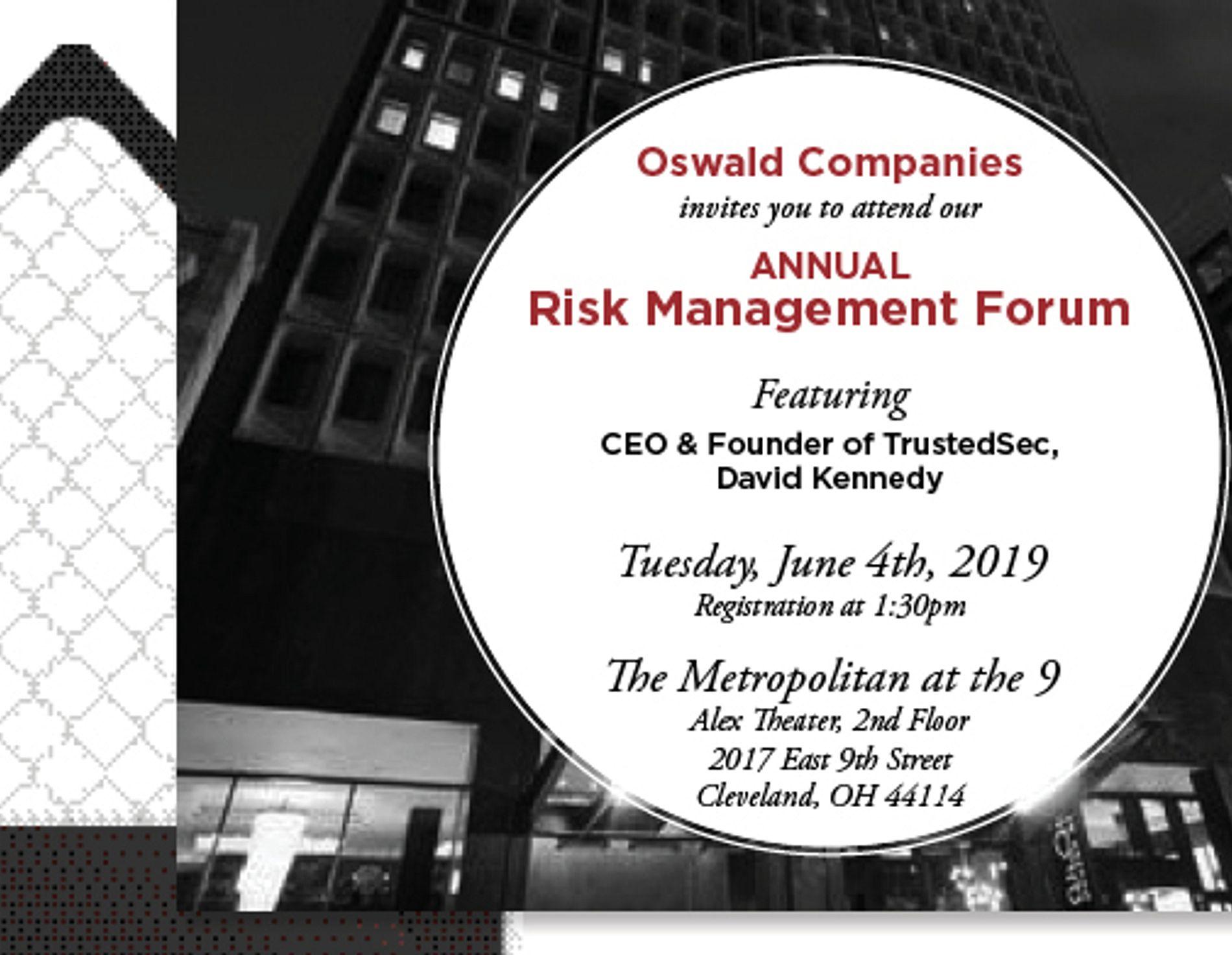 Risk Management Forum