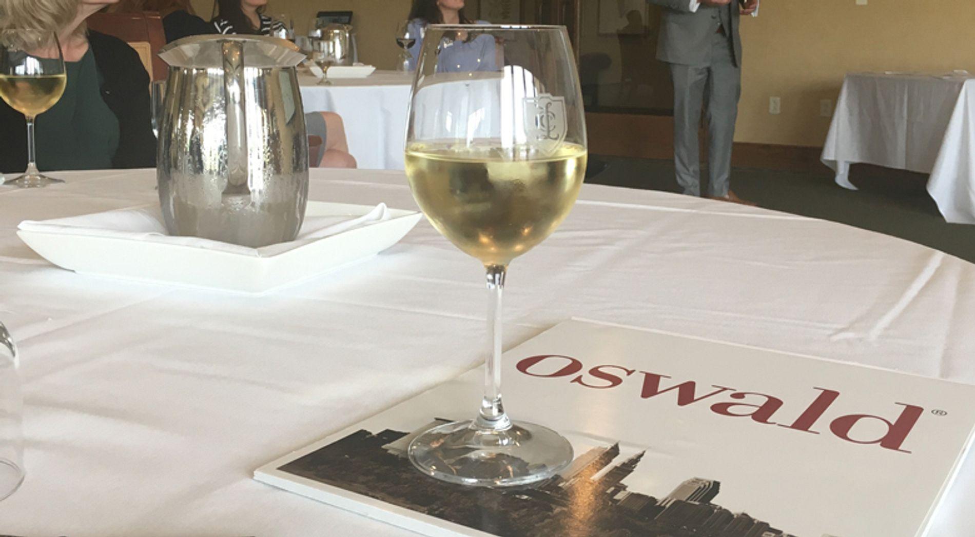 Wine Glass on Oswald brochure