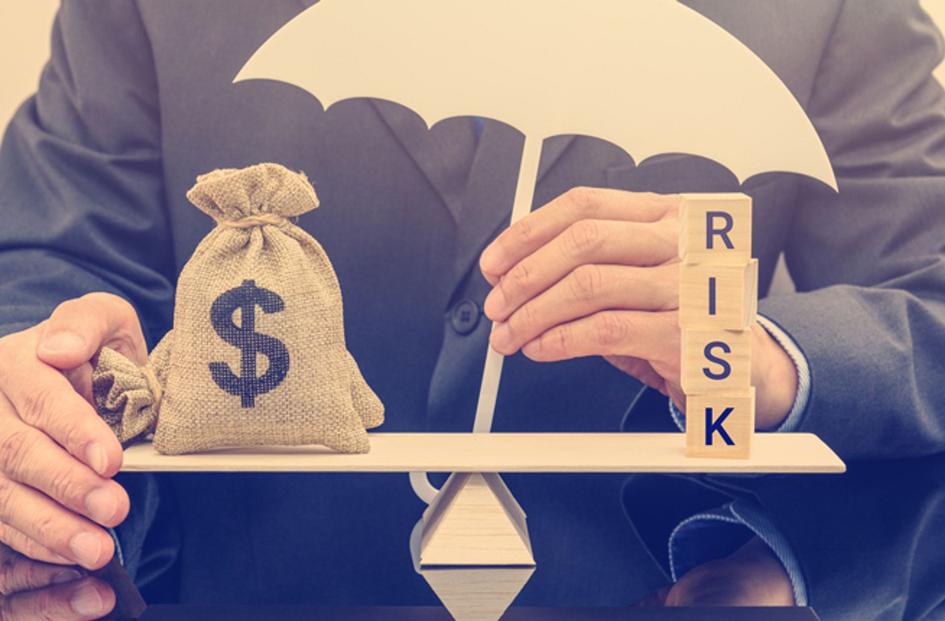 Balancing money and risk under one umbrella