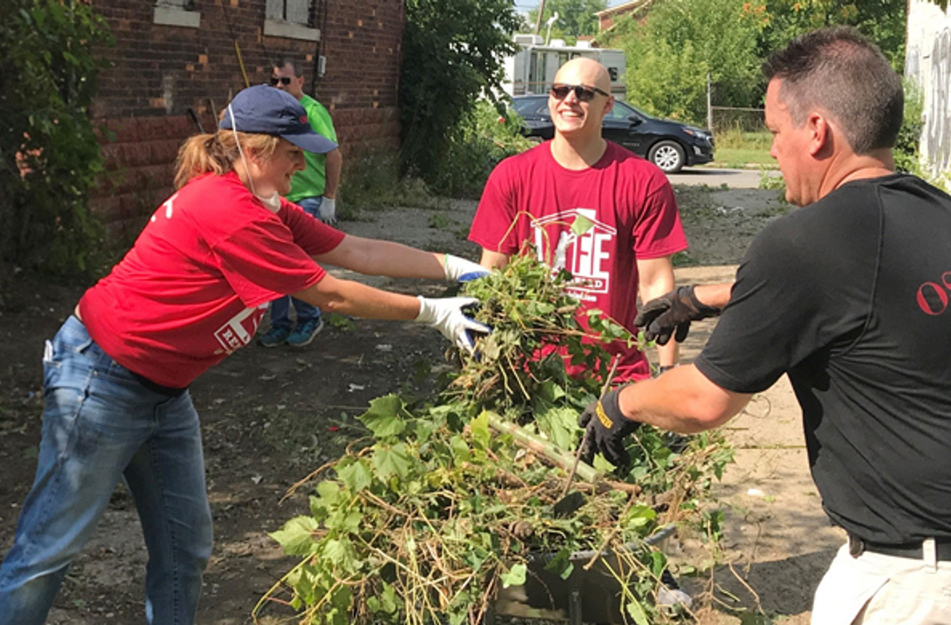 Oswald Companies Detroit participating in Days of Service
