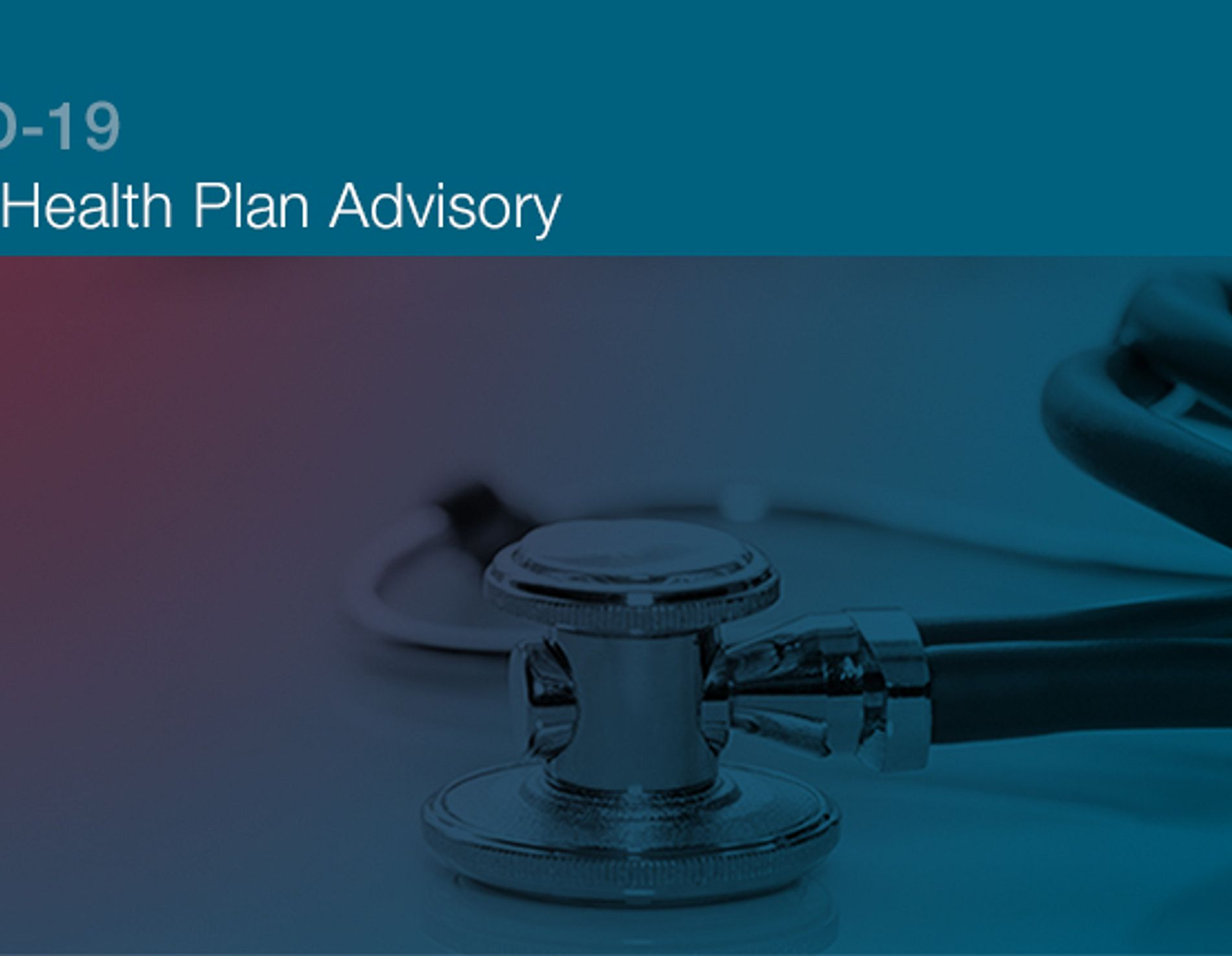 Group health plan advisory