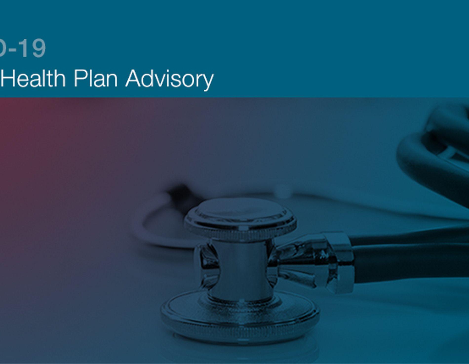 Group health plan advisory