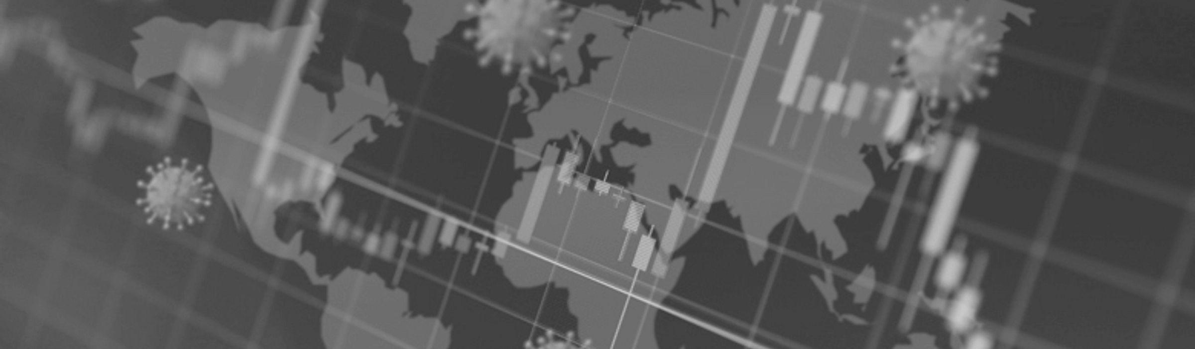Global pandemic and economic impact map