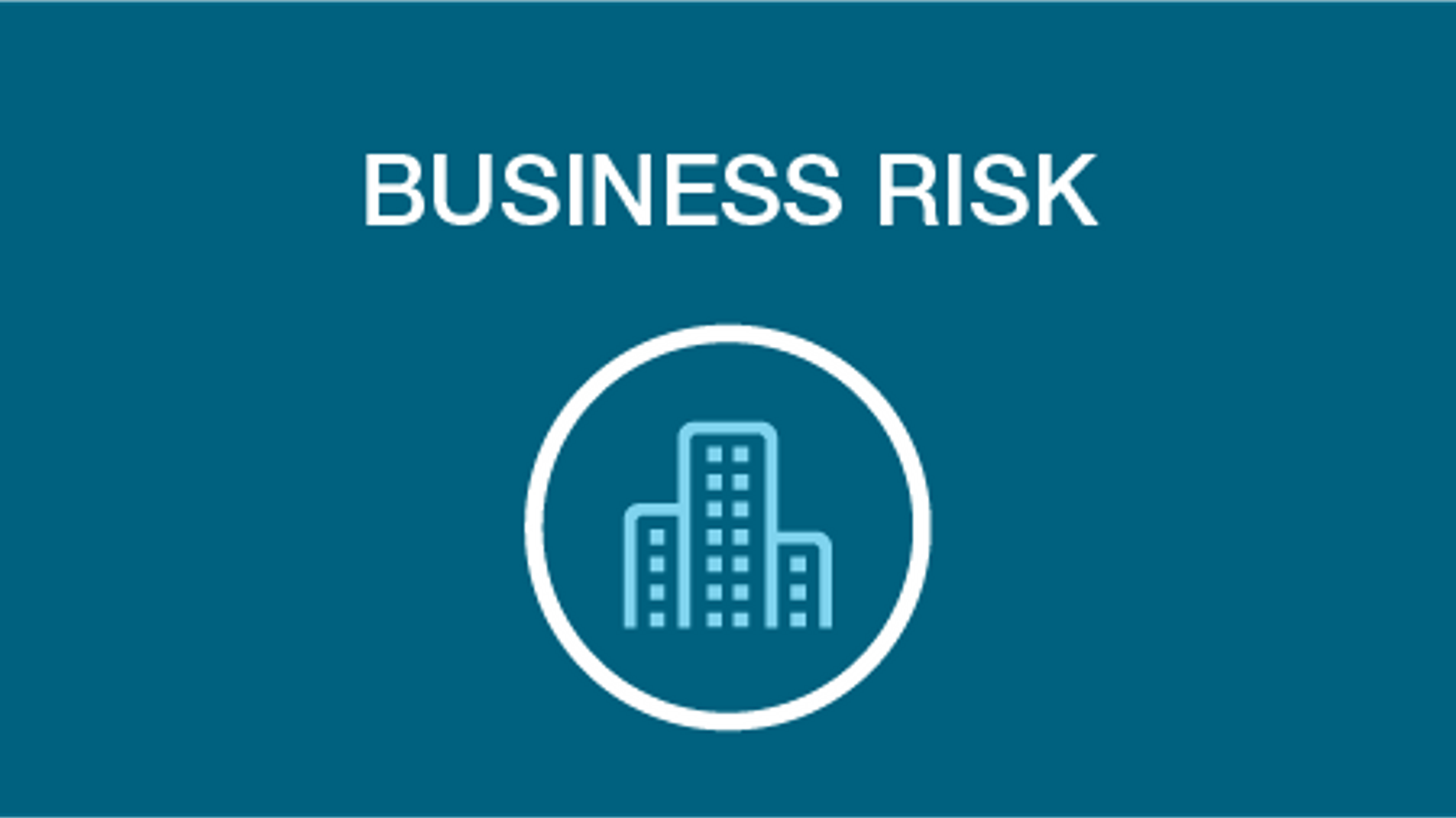 Business risk icon