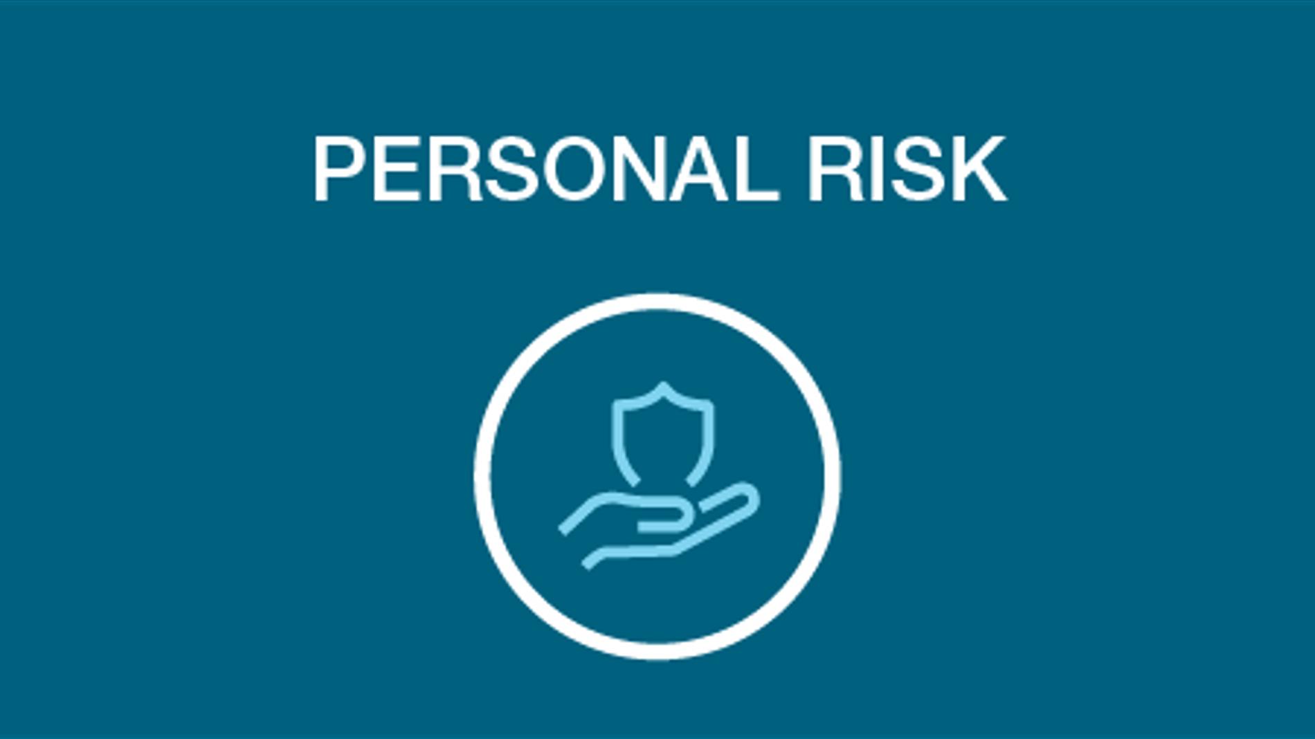 personal risk icon