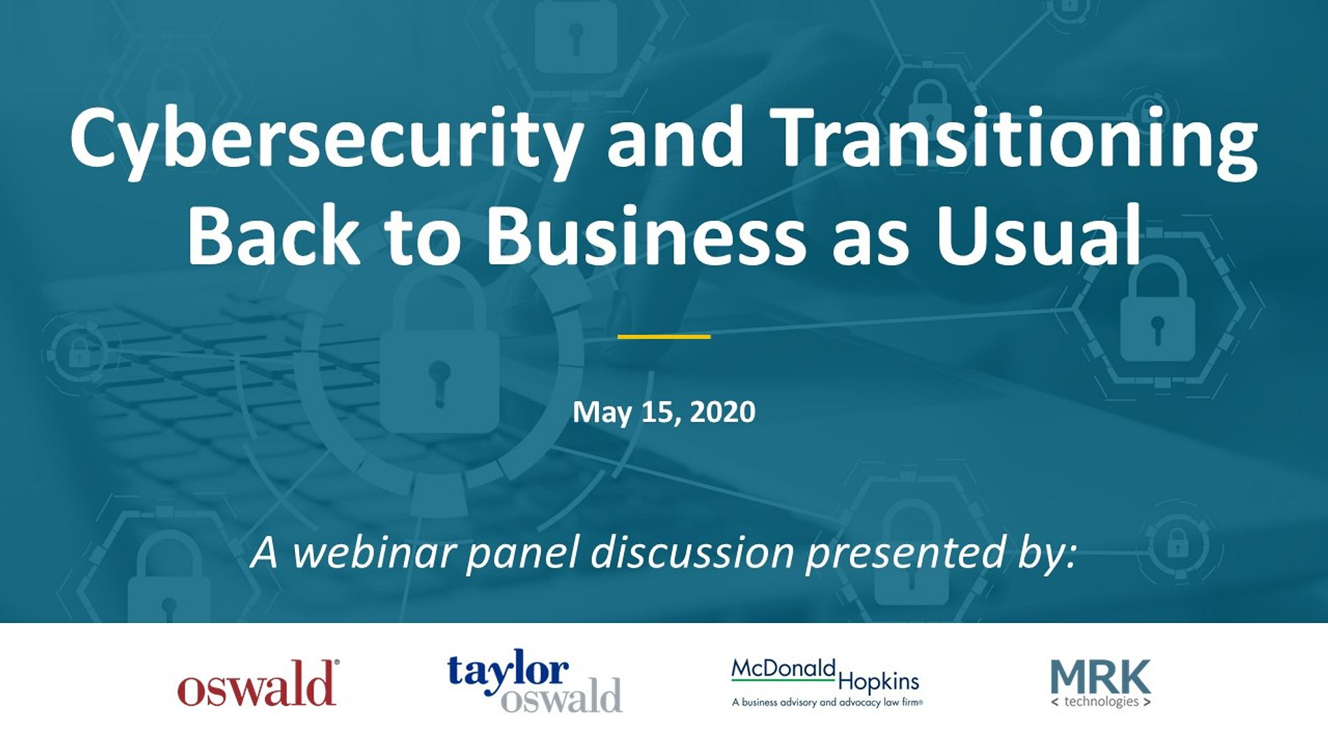 Cybersecurity Webinar May 15