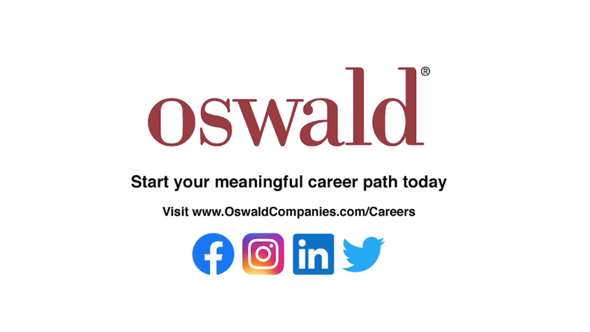 Careers with Oswald Companies