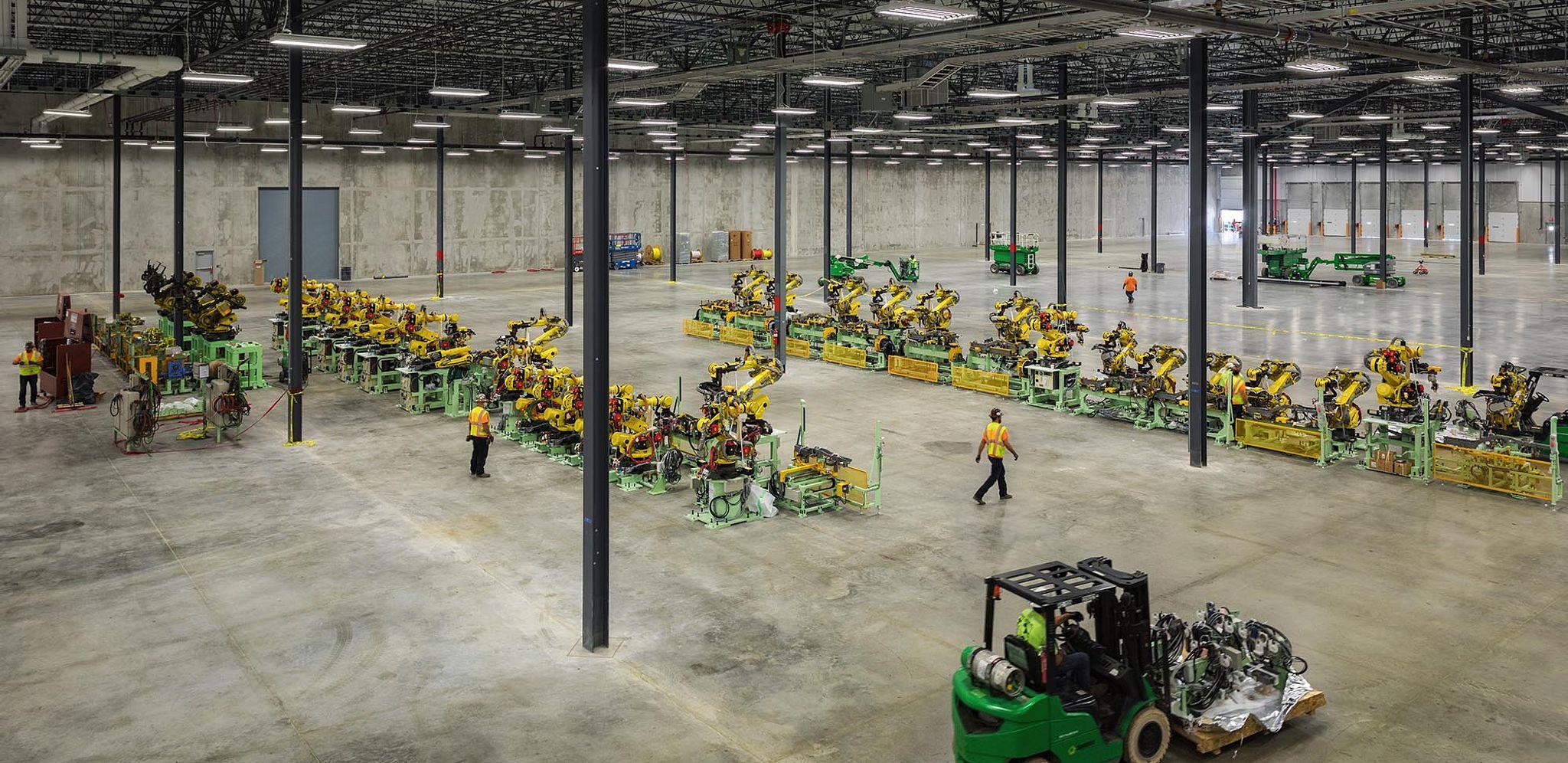 nissan LLC Manufacturing plant new 4