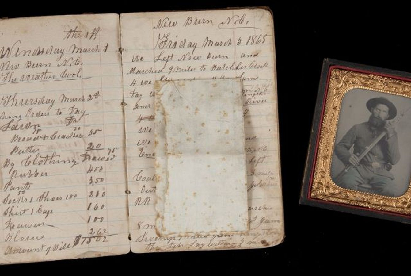 Civil War Collection of Diaries and Photos