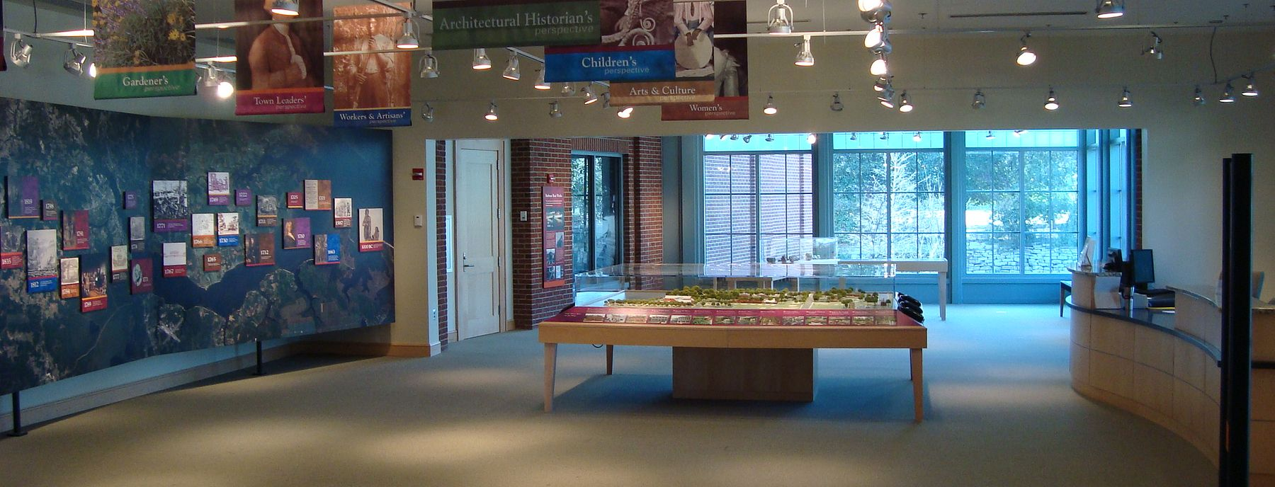 Gateway Gallery located in the North Carolina History Center