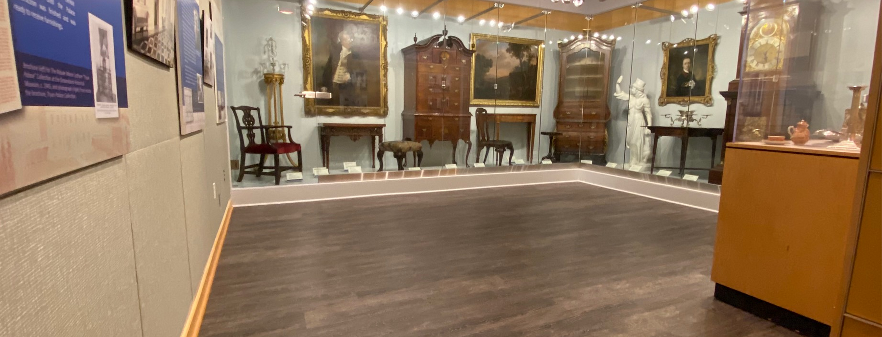 Guion Gallery located in the North Carolina History Center