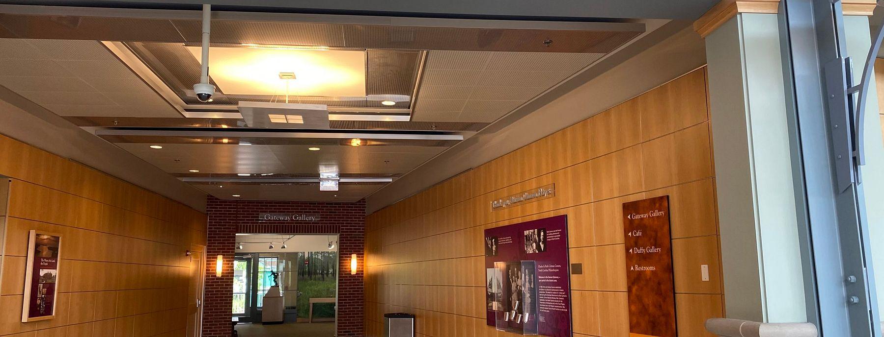 Cannon Gateway located in the North Carolina History Center