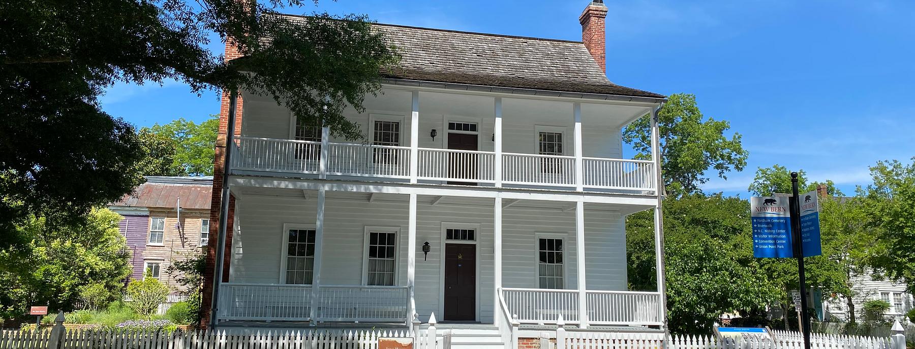Jones House off Eden St.