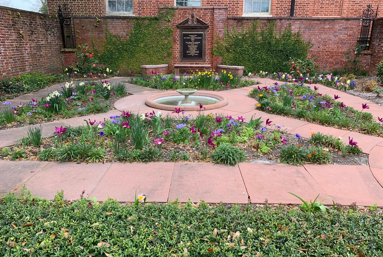 Kellenberger Garden in Spring