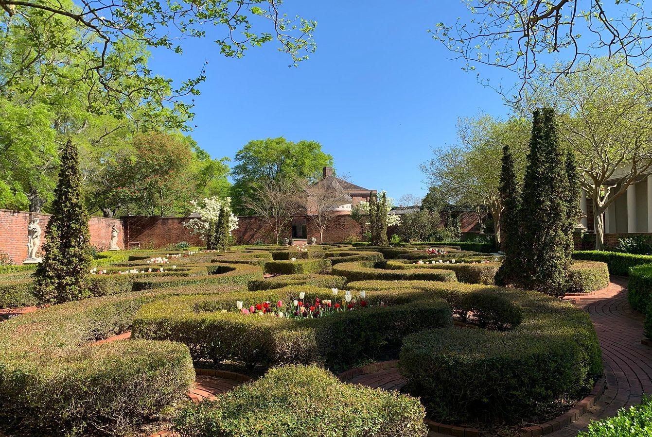 Latham Garden in the Spring