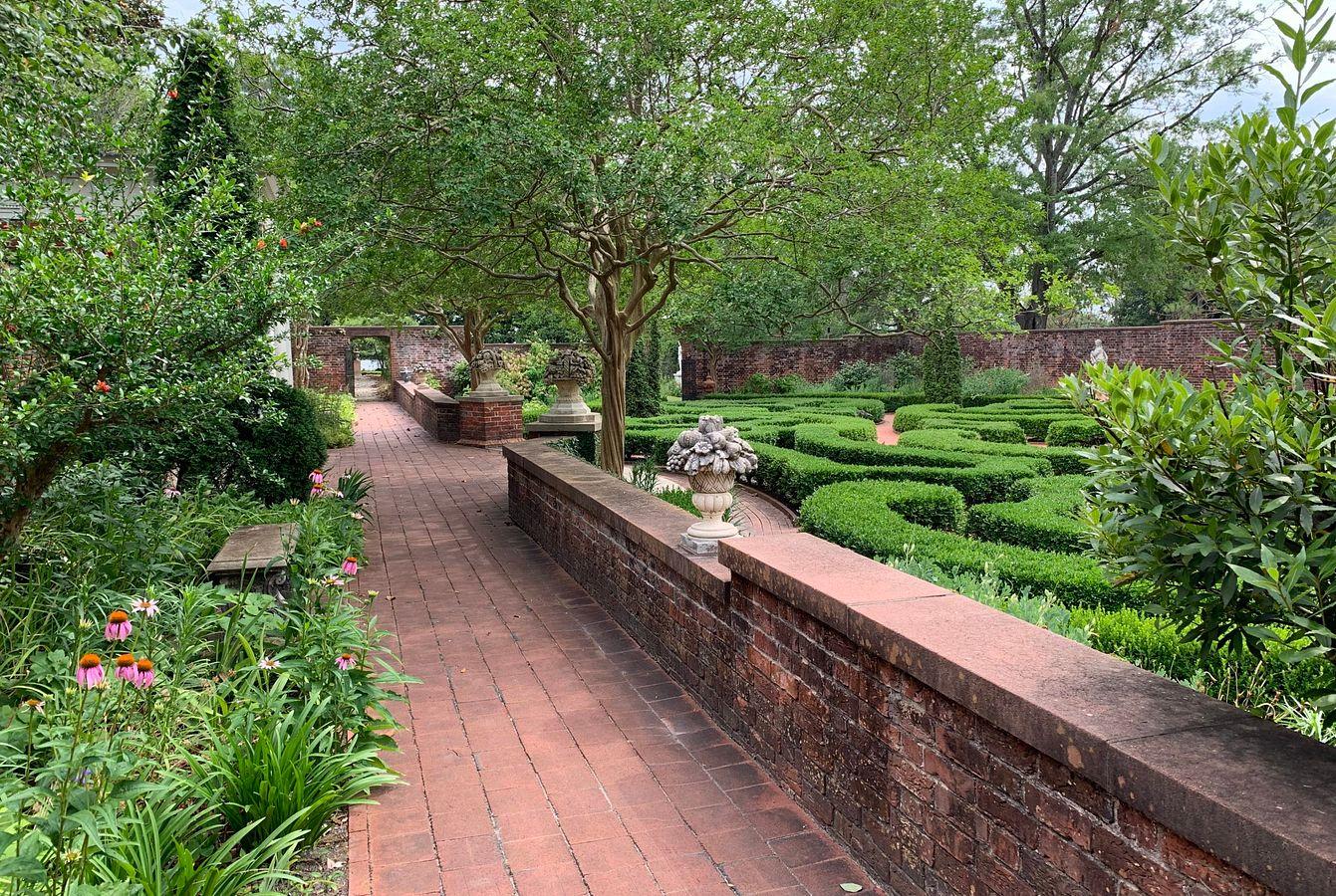 Latham Garden in the Summer