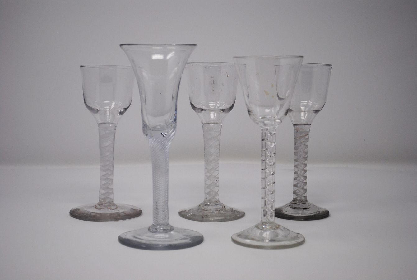 New acquisitions of 18th century stemware