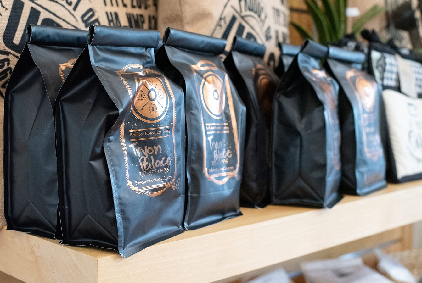 Tryon Palace Coffee Blend from Bellator Roasters