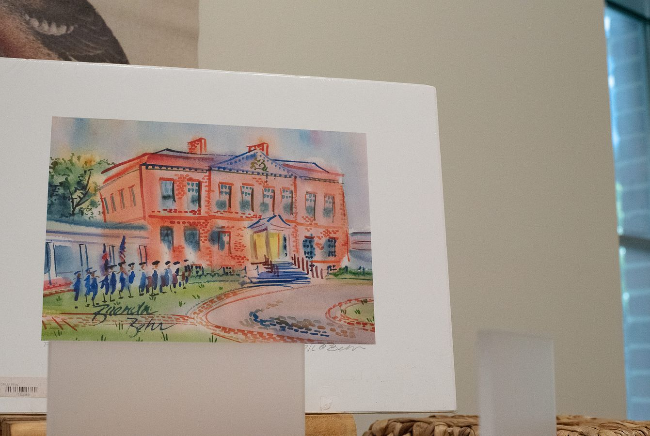 Tryon Palace Watercolor Painting