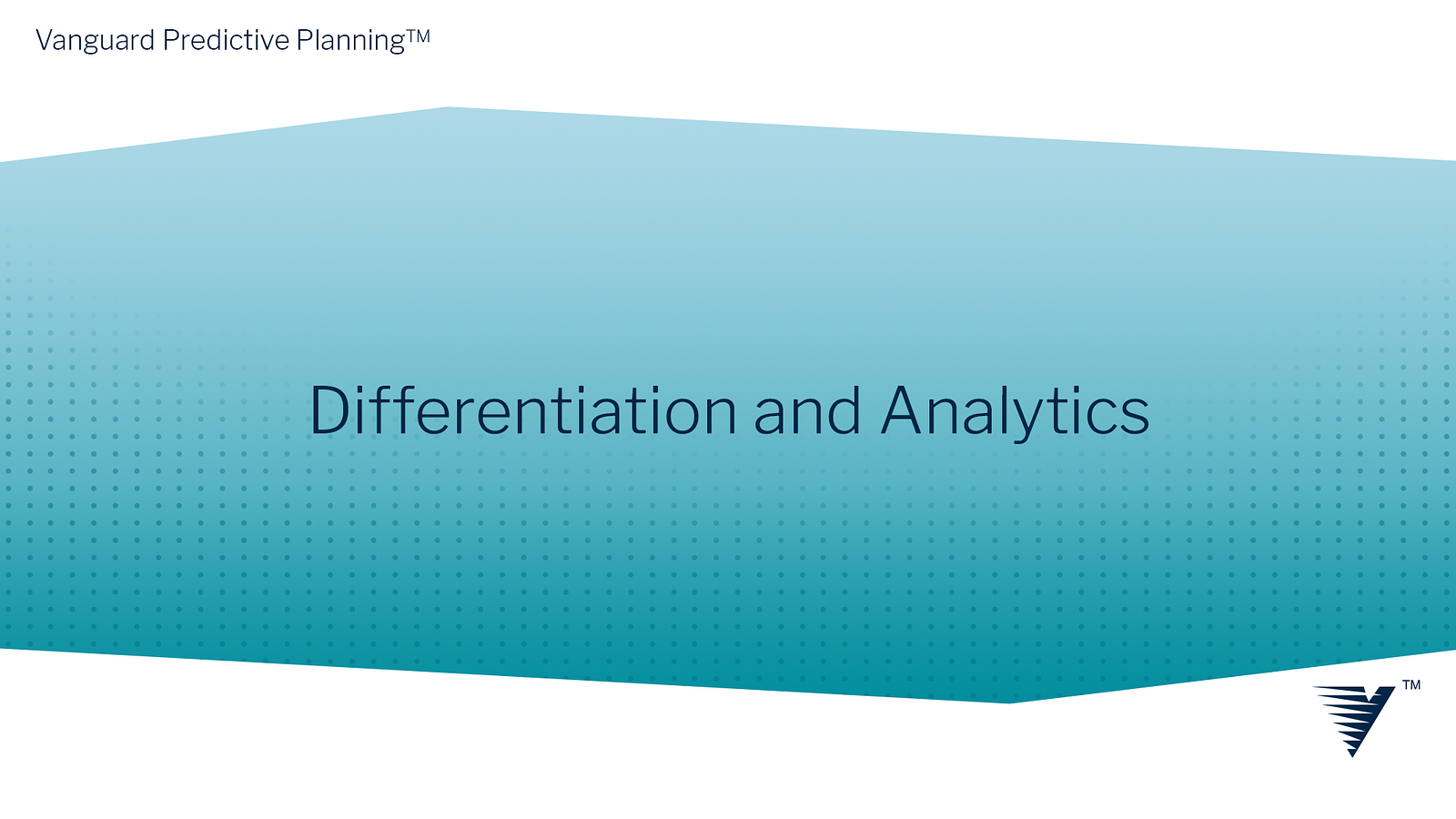 Differentiation and Analytics